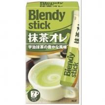 ชาเขียวมัทฉะลาเต้ ชนิดซอง stick จาก Blendy ชงได้ 7 ถ้วย