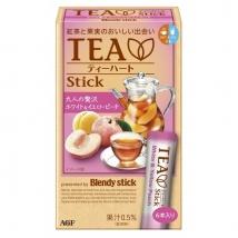 ชาผลไม้ รสลูกพีช peach tea ชาลูกพีช บรรจุ 6 ซอง