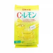 ชาเลม่อน Vitamin C and Lemon  ชนิดซองเล็ก 10 ซอง ชงร้อน-เย็นได้