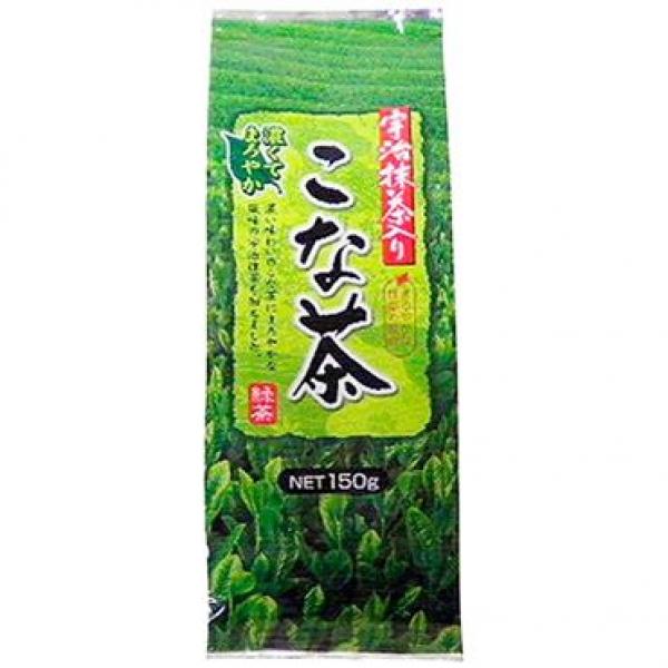 ชาเชียวแบบใบป่นละเอียด ผสมมัทฉะ Uji Matcha