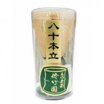 ไม้แปรงชงชา อย่างดี ชนิด 80 ก้าน Matcha Chasen Whisks