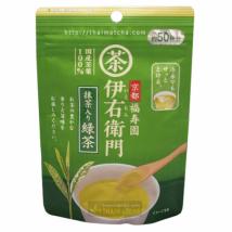 IEMON Green tea ชาเขียวผง ผสมมัทฉะจากอุจิ ชงได้ 50 แก้ว