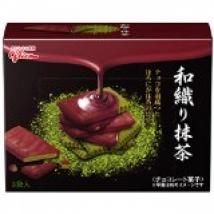 บิสเก็ต ขนมชาเขียวมัทฉะราดช็อกโกแลต กุลีโกะ glico