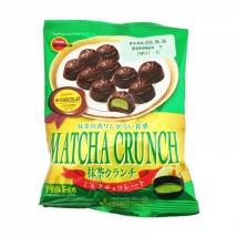 Bourbon Matcha Crunch ขนมชาเขียว เคลือบชอคโกแลต