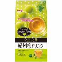 Meiji เครื่องดื่มพลัม ได้รสชาติพลัมสีเขียว