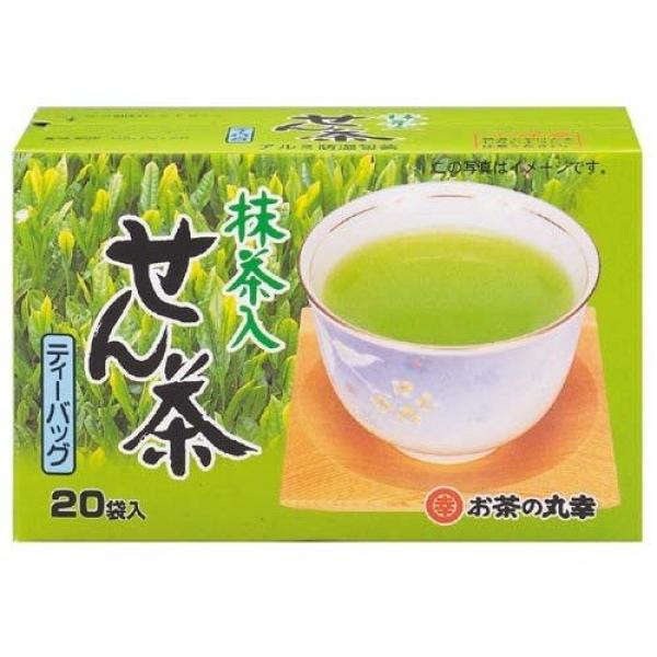 Maruko Sencha ชาเขียว เซนฉะ ผสมมัทฉะ แบบถุง tea bag