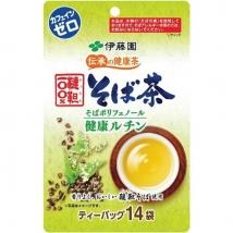 ชาโซบะ ชาเพื่อสุขภาพ อิโตเอ็น Itoen health tea Soba tea  ชนิด tea bag