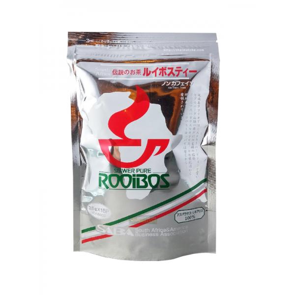 Rooibos ชารอยบอส จากตำนานชาแดงแอฟริกาใต้ ไม่มีคาเฟอีน