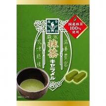 Morinaga Matcha Caramel Candy ขนมชาเขียวมัทฉะ คาราเมล (บรรจุ 6 ถุงเล็ก)