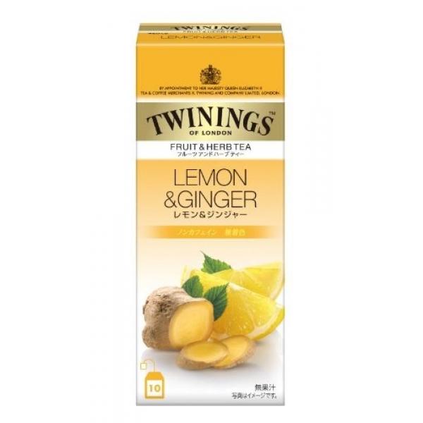 Twinings ชาขิงผสมมะนาว ดื่มเพื่อสุขภาพ