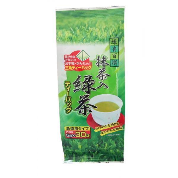 ชาเชียวญี่ปุ่นผสมมัทฉะ ชนิดถุง tea bag