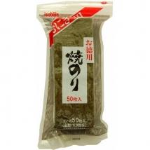 สาหร่ายญี่ปุ่น สำหรับทำข้าวปั้นหรือห่อซูชิ ขนาด 50 แผ่น 95 กรัม