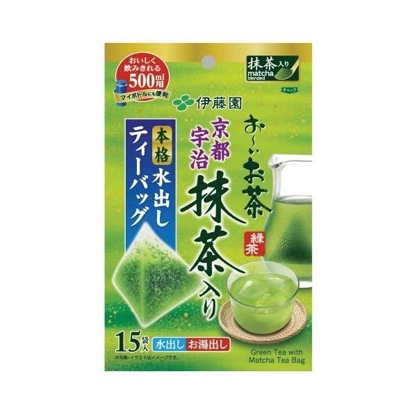 ชาเขียวอิโตเอ็น ชนิดซองปิรามิด ผสมมัทฉะจากอุจิ เกียวโต