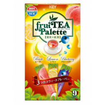 TEA Fruit Palette ชาผลไม้รวม 3 รส ชนิดผง ซองพกพา tea bag