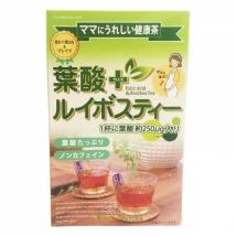 Folic Acid + Rooibos Tea ชารอยบอส มีกรดโฟลิค ช่วยบำรุงเลือด เหมาะสำหรับสตรีมีครรภ์ บรรจุ 24ถุง