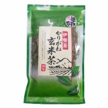 ชาเขียวข้าวคั่ว karigane