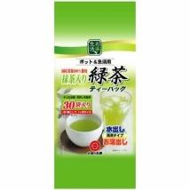 Maruko ชาเขียวผสมมัทฉะ ชนิดซอง tea bag 30 ซอง
