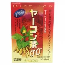 ORIHIRO Yakon Diet Tea ชายาคอน ชาสมุนไพร ลดความอ้วน