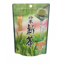 ผงชาเขียวญี่ปุ่น อย่างดี ทำจากชาใหม่สดจากไร่ (shincha) ชนิดผง ละลายน้ำง่าย
