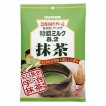 ลูกอมชาเขียว ญี่ปุ่น  Mikakuto Matcha Green Tea Candy Japan ตรา UHA