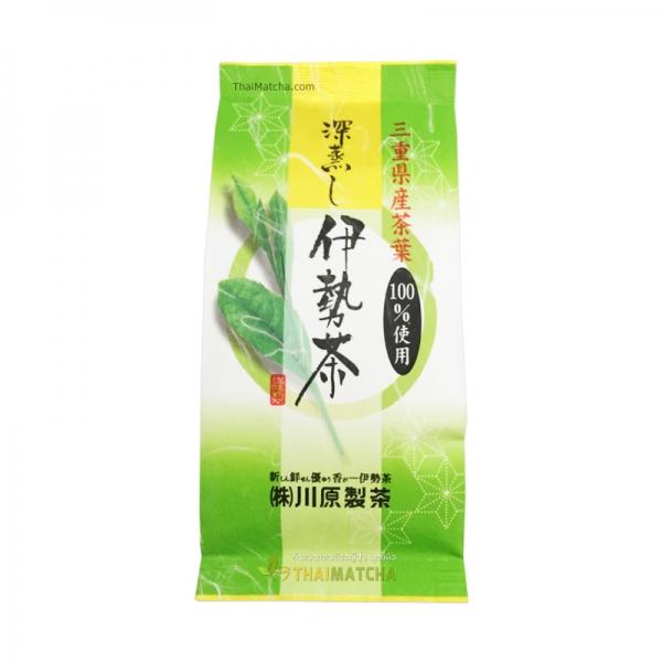 ชาเขียวอิเซะชา ฟุกะมุชิ Kawahara ชนิดใบ ผลิตจากใบชาอิเซะ100%