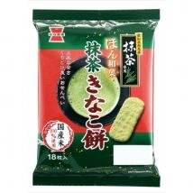 ขนมญี่ปุ่น เซมเบ้ชาเขียวมัทฉะ อบกรอบ อร่อย รสเข้มข้น