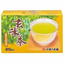 Maruko ชาเขียวข้าวคั่ว เกมมัยฉะ บรรจุ 20 ซอง  tea bag