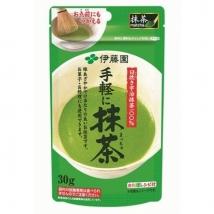 ชาเขียวมัทฉะ เข้มข้นแท้ 100% จากอิโตเอ็น  30g  สำหรับคนรักมัทฉะ ชงง่าย