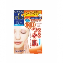 มาร์คหน้าญี่ปุ่น Kose Clearturn White Coenzyme Q10 Paper Facial Mask