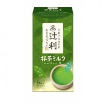 ชาเขียวนม ลาเต้ tsujiri ชนิดพกพา บรรจุ 5 ซอง stick