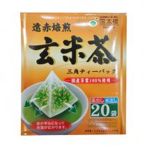 Kunitaro   ชาเขียวข้าวกล้องคั่ว แบบซองปิรามิด Tea bag บรรจุ 20 ซอง