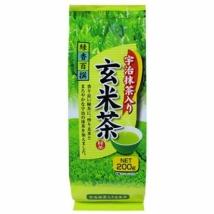ชาเขียวข้าวคั่ว เกมมัยชา ผสมอุจิมัทฉะ