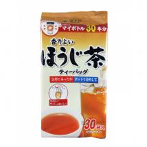 ชาโฮจิ ชนิด teabag ชงร้อน-เย็นได้ สำหรับใส่กระติกน้ำ 500ml กลิ่มหอม ดื่มง่ายสดชื่น