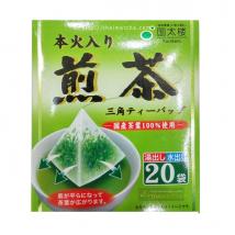 Kunitaro  Sencha   ชาเขียวเซนฉะ  แบบซองปิรามิด Tea bag บรรจุ 20 ซอง