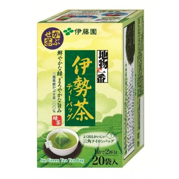 ITOEN ชาเขียว อิเซฉะ สุดยอดชาเขียวพรีเมี่ยม  ซองปิรามิด บรรจุ 20 ซอง