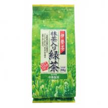 ชาเขียวอิเซะชา ชนิดใบ ผสมมัทฉะ สดจากไร่ชา หอมมากเมื่อชงร้อน