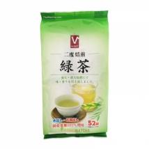 V Select Green Tea ชาเขียวญี่ปุ่น ชงน้ำร้อน หรือ ชงน้ำเย็นก็ได้ ชนิดถุง บรรจุ 52ถุงเล็ก