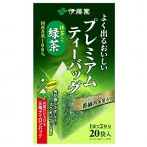 ชาเขียวญี่ปุ่น พรีเมี่ยม อิโตเอ็น ซองปิรามิด Itoen Premium Tea Bag