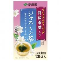 ชาดอกมะลิ Itoen Premium Jasmine Tea Bag หอมกลิ่นดอกมะลิ ชนิดซอง บรรจุ 20 ซอง