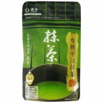 Morihan ออร์แกนนิค  ชาเขียวมัทฉะ Organic Uji Matcha ชนิดผง