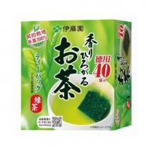 ชาเขียว ITOEN คัดใบชาอย่างดี กลิ่นหอมชาเขียว บรรจุ 40 ซอง