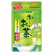 ชาเขียวญี่ปุ่น ITOEN อิโตเอ็น ชนิดผง 80 กรัม ชงได้ 100 แก้ว ราคาถูกที่สุด