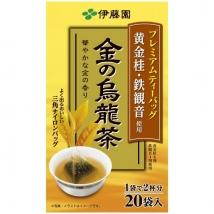 Itoen Premium Gold Oolong Tea Bag ชาอู่หลง ชนิดซอง 1 กล่อง บรรจุ 20 ซอง