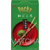 Glico Pocky Wagokoro Uji Matcha ป็อกกี้ชาเขียวสไตล์ญี่ปุ่น