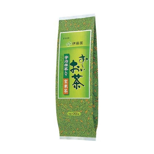 ชาเขียวข้าวคั่ว เกมมัยชา Itoen Genmai cha  แพคใหญ่ราคาคุ้มค่า 200 กรัม