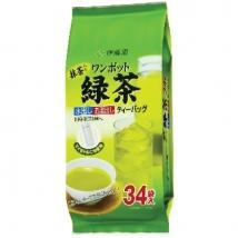 ชาเขียวอิโตเอ็น ผสมมัทฉะ สำหรับชงขวดใหญ่ 34 ซอง tea bag