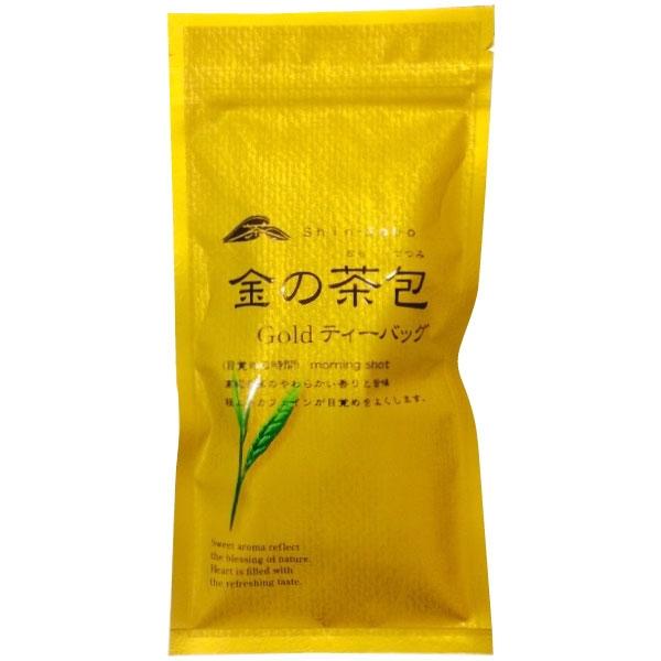 ชาเขียวอย่างดี Gold จากอิเซะ แหล่งผลิตชาที่มีชื่อของญี่ปุ่น tea bag