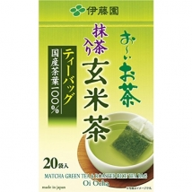 Itoen ชาเขียวข้าวคั่ว บรรจุ 20 ซอง