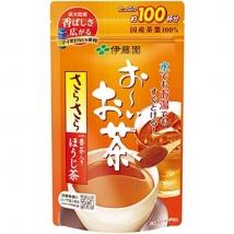 ITOEN ชาโฮจิ รสชาติสำหรับคนชอบกาแฟ ชงได้ 100 แก้ว