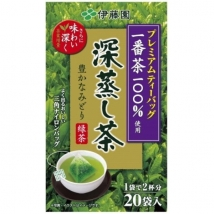Itoen Premium Green Tea Bag Fukamushi-cha ชาเขียวญี่ปุ่น ชนิด 20 ซอง